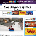 The Los Angeles Times catches the .buzz!